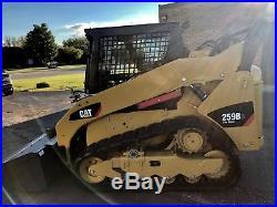 2013 Cat 259b3 Skid Steer 730 Hours Cab! Heat! Air! Case Bobcat New Holland