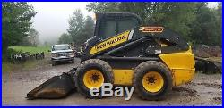 2013 New Holland L230 Skid Steer Fully Loaded Every Option Only 581 Hours! Nice