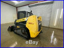 2014 New Holland C227 Cab Compact Track Loader With Ac/heat