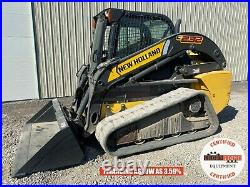 2014 New Holland C232 Track Loader, Erops, 2 Speed, Hand/foot Controls, 620 Hrs