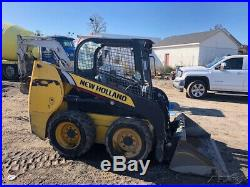 2014 New Holland L216 Skid Steer Loader Only 1500 Hours One Owner Machine