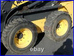 2014 New Holland L218 Skid Steer, Orops, Aux Hydraulics, 2 Speed, 903 Hrs