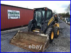 2014 New Holland L228 Skid Steer Loader with Cab 2 Speed New Tires CHEAP