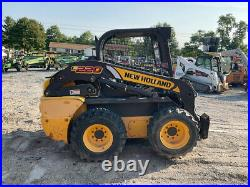 2015 New Holland L220 Skid Steer Loader Super Clean Only 600Hrs NEEDS REPAIRS