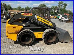 2015 New Holland L223 Skid Steer Loader with Solid Tires Only 900Hrs