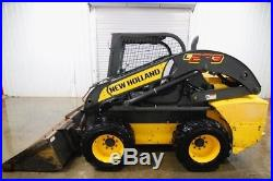 2015 New Holland L223 Wheeled Skid Steer, Open Rops, 68hp