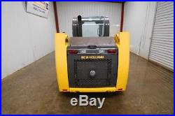 2015 New Holland Wheeled Skid Steer Loader, Open Rops, 57hp