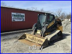 2016 New Holland C238 Compact Track Skid Steer Loader with Cab Only 1900 Hours