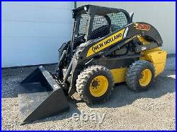 2016 New Holland L228 Skid Steer, Orops, Aux Hyd, Hand/foot Controls, 2 Speed