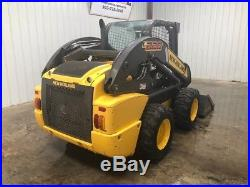 2016 New Holland L228 Wheeled Skid Loader, 2 Speed, Pilot Controls