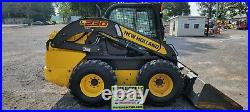 2016 New Holland L230 Skidloader. 1543 Hours! 2 Speed! Full Cab! Just Serviced