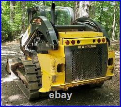 2017 C232 New Holland Tracked Skidsteer Joystick with Power Quick Attach 2600hrs