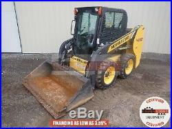 2017 New Holland L216 Skid Steer Erops Heat Aux Hyd Hand. Foot Controls 141 Hours