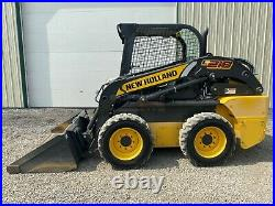 2017 New Holland L218 Skid Steer, Orops, Aux Hyd, Hand/foot Controls, 284 Hours
