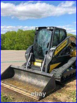 2018 New Holland C232 Tracked skid steer loader In Excellent Condition