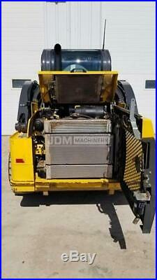 2018 New Holland L218 Cab Heat Air Skid Steer Wheel Loader Tire Machine Cat 218