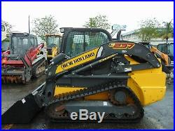 2019 New Holland C-237 Turbo 2 Speed High Flow Every Option Ride Control