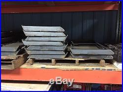 3/8 Universal Skid Steer quick attach plate bobcat kubota