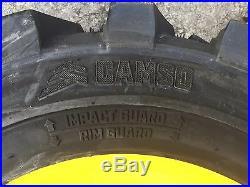 4-10-16.5 HD Skid Steer Tires-Camso SKS532-10X16.5 John Deere 6 lug 4475, 5575