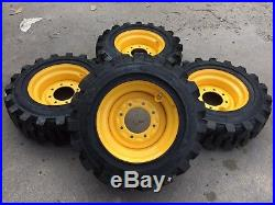 4-10-16.5 HD Skid Steer Tires/wheels/rims -Camso SKS732 for New Holland- 29/32nd