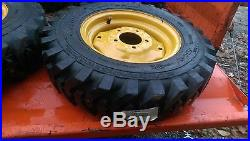 4-5.70-12 Xtra Wall Skid Steer Tires/wheels for New Holland LS120, LS125