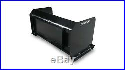 4' Falcon Snow Pusher for Skid Steer or Tractor