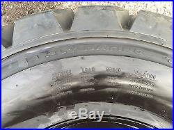 4 Galaxy Hulk L5 14-17.5 Skid Steer Tires/Wheels/Rims for New Holland 14X17.5