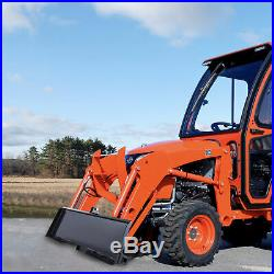 47 Steel 3-Point Attachment Adapter for Bobcat Kubota Deere Skidsteer Tractor