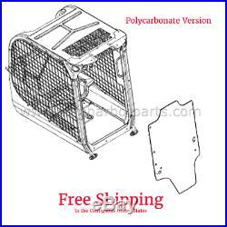 47405930-14PC Skidsteer Front Door Polycarbonate