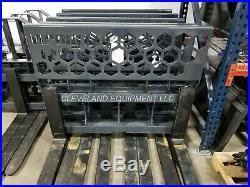 48 VIRNIG PALLET FORKS & FRAME ATTACHMENT 5,500 LB CAPACITY Skid Steer Loader