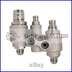 4BD4FH Hydraulic Coupler Assembly Block For New Holland C238 L218 L223Skid Steer