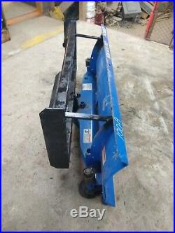 60 New Holland SKIDSTEER Snowplow SKID STEER Snow plow pusher 5' tractor
