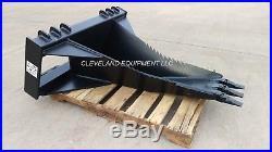 62 XL STUMP BUCKET ATTACHMENT New Holland Yanmar ASV Skid Steer Track Loader