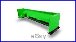 7' Falcon Snow Pusher for Skid Steer or Tractor