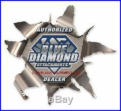 72 BLUE DIAMOND OPEN FRONT BRUSH CUTTER ATTACHMENT New Holland Case Skid Steer