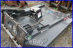 72 Bradco GSS72 flail mower, brush cutter for a skidloader / skidsteer