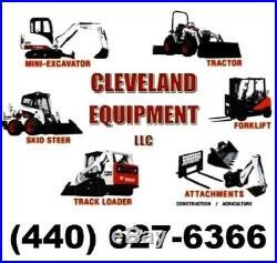72 COMPACT TRACTOR / SKID STEER SNOW PLOW BLADE ATTACHMENT Mahindra New Holland