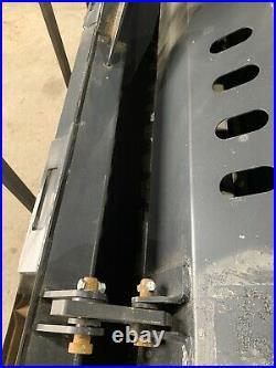 72 Inch Landscape Rake Rock Hound Harley Rake Bobcat Cat Case Jcb skid steer