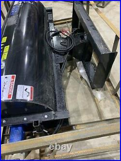 72 Inch Skid Steer Sweeper Mower King Cat Case Bobcat ASV Gehl Kubota Bobcat JCB