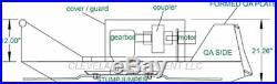 72 SD OPEN FRONT BRUSH CUTTER ATTACHMENT New Holland Skid Steer Loader Mower