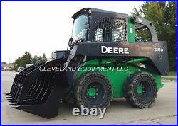72 SEVERE-DUTY ROOT GRAPPLE RAKE ATTACHMENT John Deere Terex Skid-Steer Loader