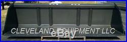 78 BULK MATERIAL BUCKET Snow Mulch Litter Skid-Steer Tractor New Holland Kubota