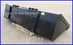 84 XHD LONG BOTTOM BUCKET New Holland Gehl Skid Steer Track Loader Severe-Duty