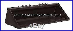 84 XHD LOW PROFILE BUCKET New Holland Gehl Skid Steer Track Loader Severe-Duty