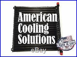 87014852 Ford New Holland Skid Steer Loader C175, 190, L175, L180 Oil Cooler