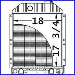 9828737 Radiator Fits John Deere 675 675B Fits New Holland L555 L553