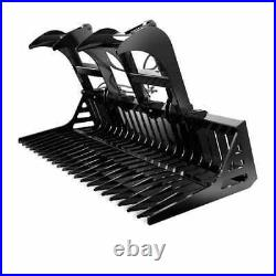 All States Rock Bucket with Grapple 72 Skid Steer