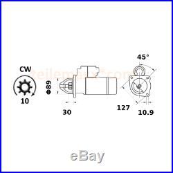 Anlasser für Case CNH Claas Euromacchine New Holland Steyr. 47715266 84208918