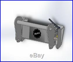 BUDD New Holland Gehl telehandler to Skid Steer Quick Attach Adapter LM435 CT723