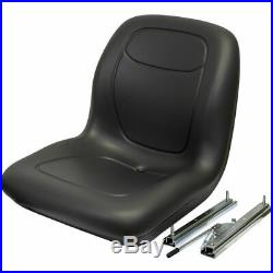 Black Skid Steer Seat fits Ford New Holland LS120 LS125 LS140 LS150 LS160 LS170